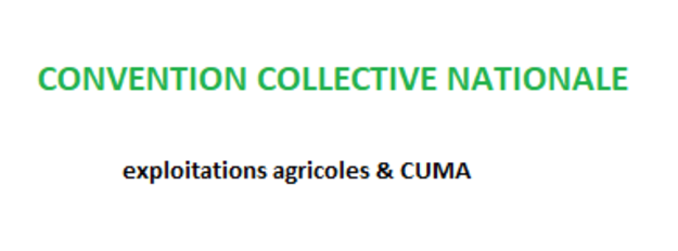 Photo de l'actualité Comprendre la nouvelle convention collective nationale Agricole